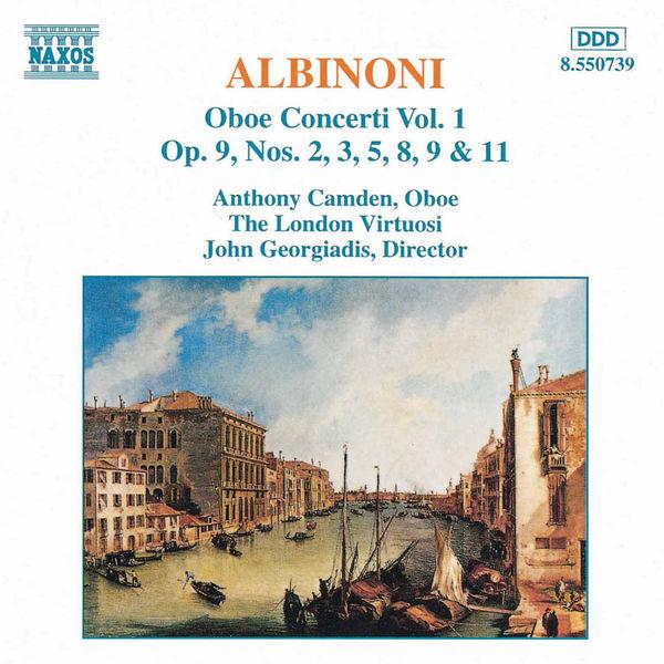 Anthony Camden - ALBINONI: Oboe Concertos, Vol.  1