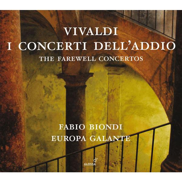 Fabio Biondi - Vivaldi : I concerti dell'addio