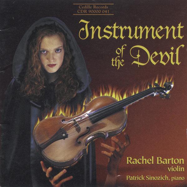 Rachel Barton Pine - Instrument du diable