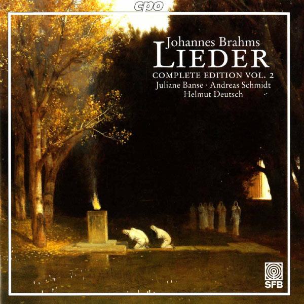 Andreas Schmidt - Brahms: Lieder (Complete Edition, Vol. 2)