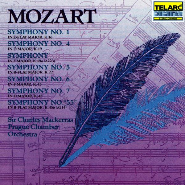 "Charles Mackerras - Mozart: Symphonies No. 1, K.19a, 4, 5, 6, ""55"" & 7"
