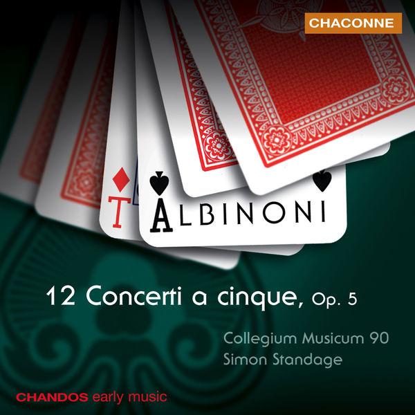 Simon Standage - 12 concertos a cinque, op. 5