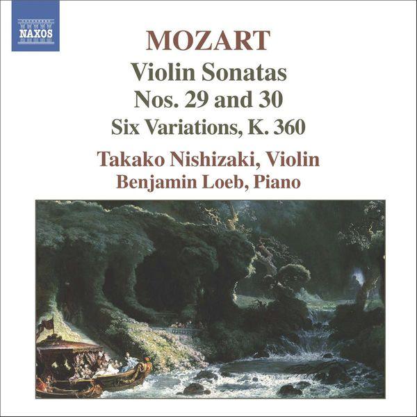 Takako Nishizaki - MOZART: Violin Sonatas, Vol. 6