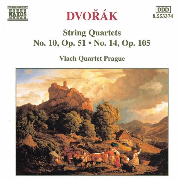 Vlach Quartet Prague|String Quartets No. 10, Op. 51 and No. 14, Op. 105