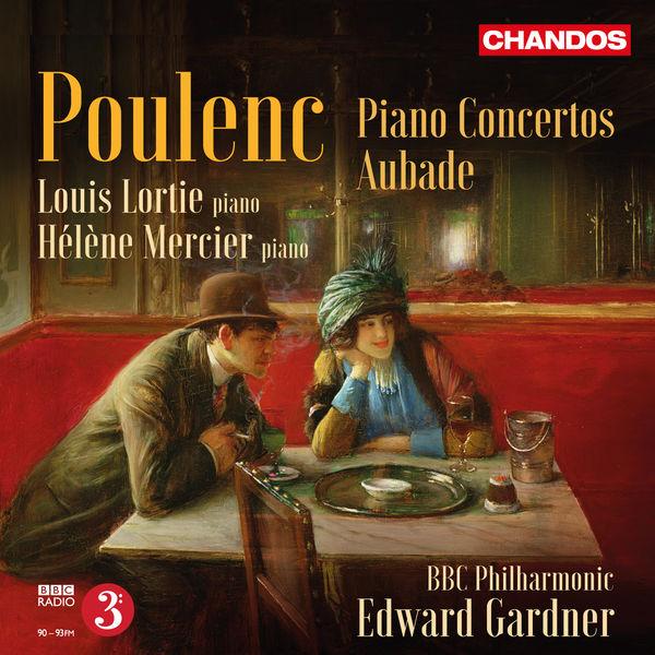 Louis Lortie - Poulenc : Piano Concertos & Aubade, FP 51