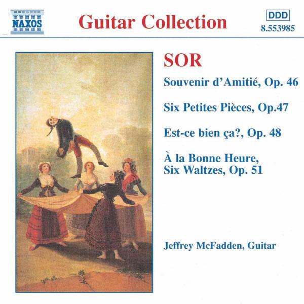 Jeffrey Mcfadden - Souvenir d Amitie / 6 Petites Pieces, Op. 47