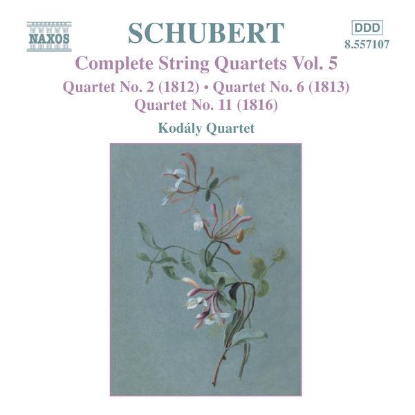 Kodaly Quartet - SCHUBERT: String Quartets (Complete), Vol. 5