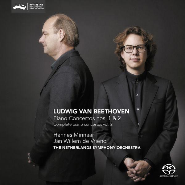 Hannes Minnaar - Beethoven: Piano Concertos Nos. 1 & 2