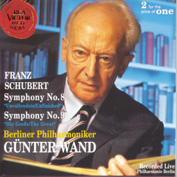 Günter Wand - Schubert: Symphonies 8 and 9