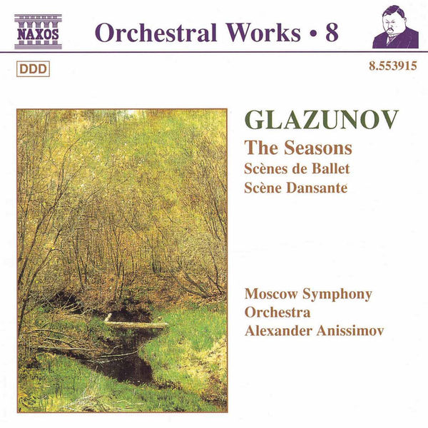 Moscow Philharmonic Orchestra - Seasons (The) / Scenes de Ballet