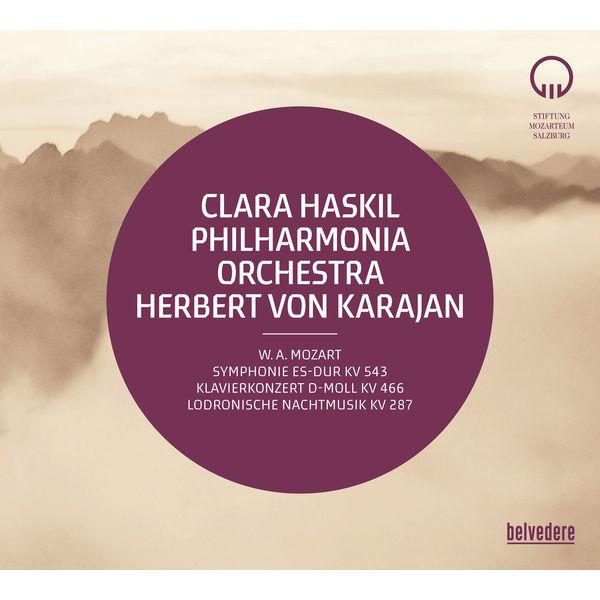 Philharmonia Orchestra - Mozart: Symphony No. 39, K. 543, Piano Concerto No. 20, K. 466 & Divertimento No. 15, K. 287