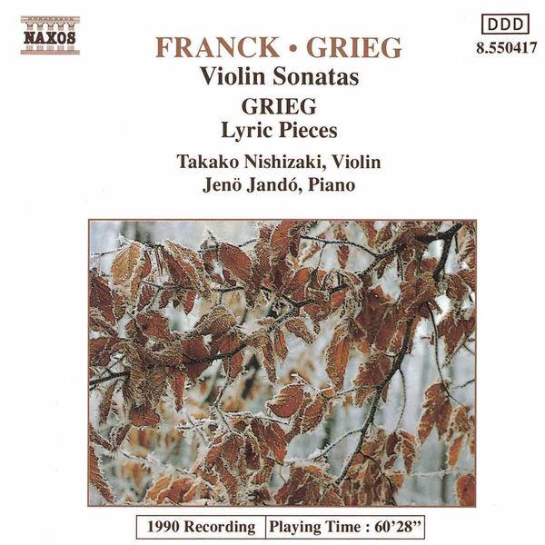 Takako Nishizaki - Franck / Grieg: Violin Sonatas