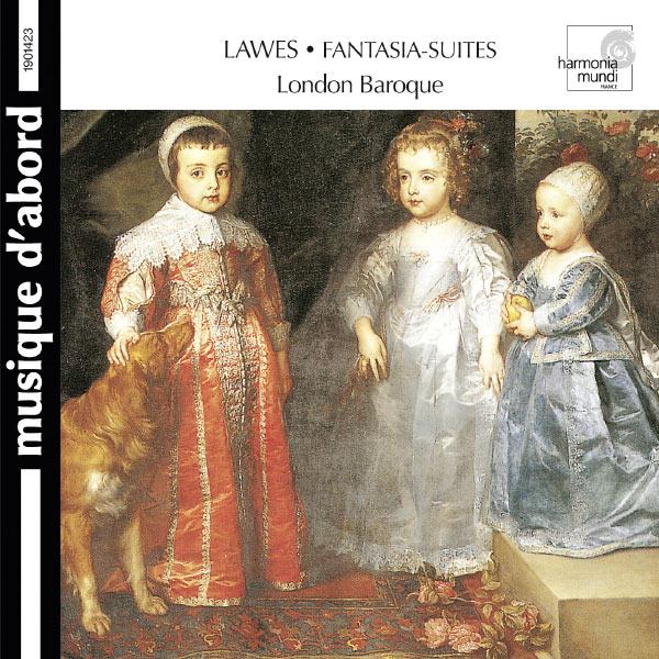 London Baroque, Charles Medlam - Lawes: Fantasia-suites for two violins, bass viol & organ