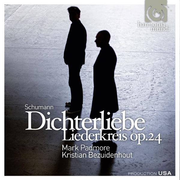 Mark Padmore|Schumann: Dichterliebe op.48, Liederkreis op.24 (Mark Padmore, tenor - Kristian Bezuidenhout, fortepiano)