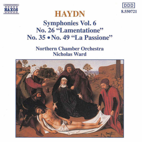 Northern Chamber Orchestra - HAYDN: Symphonies, Vol.  6 (Nos. 26, 35, 49)