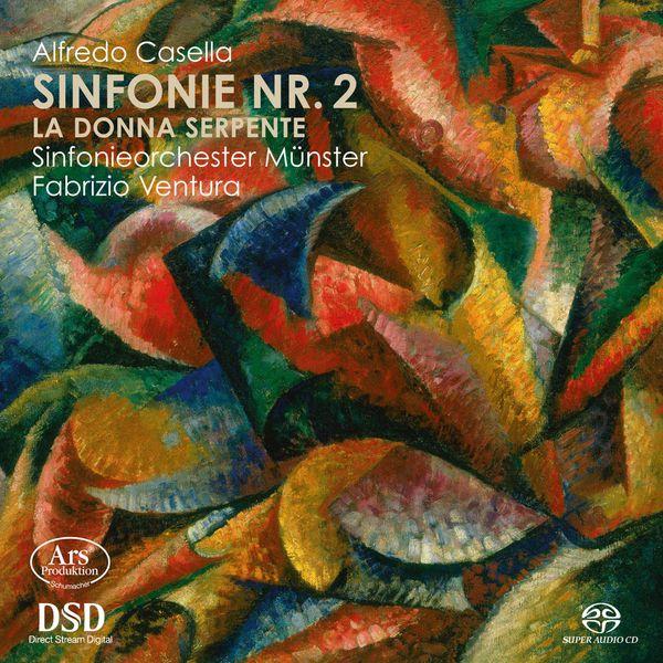 Sinfonieorchester Münster - Casella: Symphony No. 2 & La donna serpente Suite No. 1