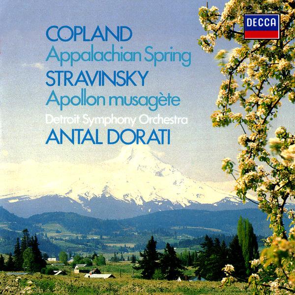 Antal Doráti|Copland: Appalachian Spring / Stravinsky: Apollon musagète
