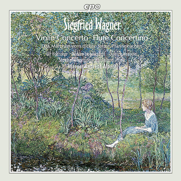Ulf Hoelscher - Wagner, S.: Violin Concerto / Konzertstuck / Das Marchen Von Dicken Fetten Pfannekuchen