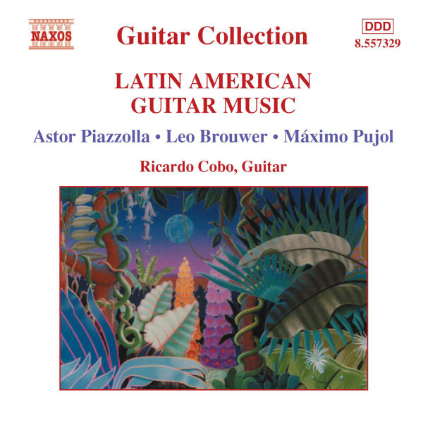 Ricardo Cobo - Musique pour guitare d'Amérique latine
