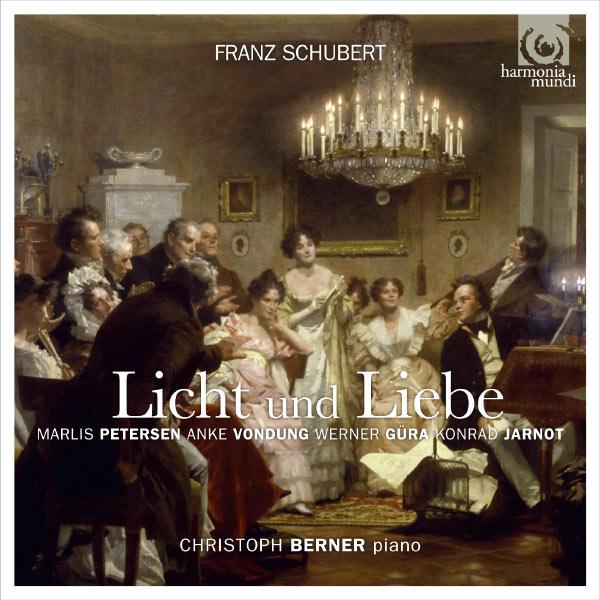 """Marlis Petersen - Anke Vondung - Werner Güra - Konrad Jarnot - Franz Schubert : """"Licht und Liebe"""" (Lieder & Vocal Quartets)"""