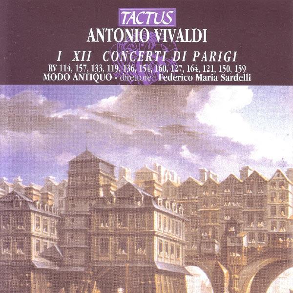 Modo Antiquo - Vivaldi: Concerti Di Parigi I XII