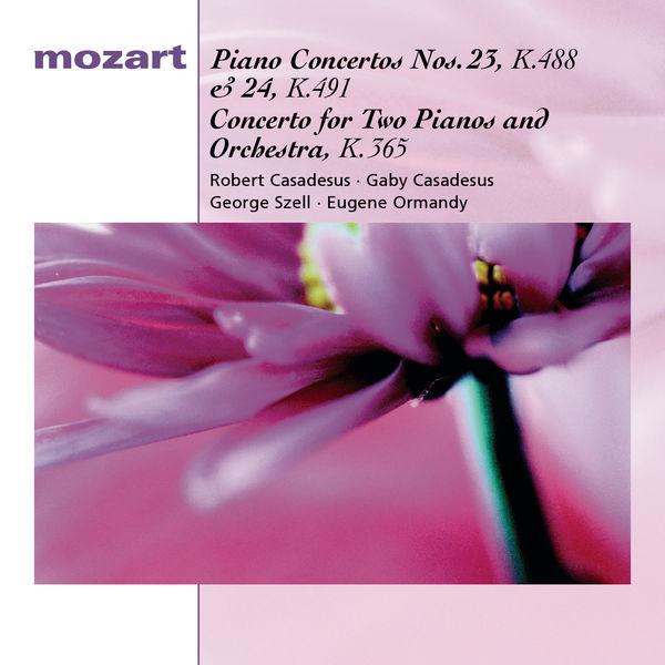 Robert Casadesus - Mozart : Concertos pour piano n°23 & 24, Concerto pour deux pianos