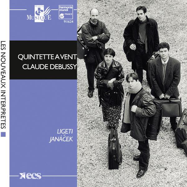 Claude Debussy - Ligeti: 6 Bagatelles; Janácek: Mládí, Concertino