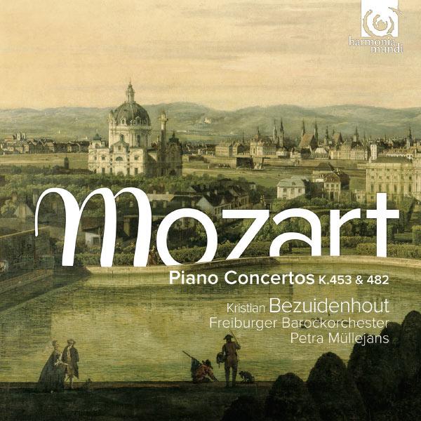 Kristian Bezuidenhout - Wolfgang Amadeus Mozart : Piano Concertos No 16 (K.453) & No 22 (K.482)