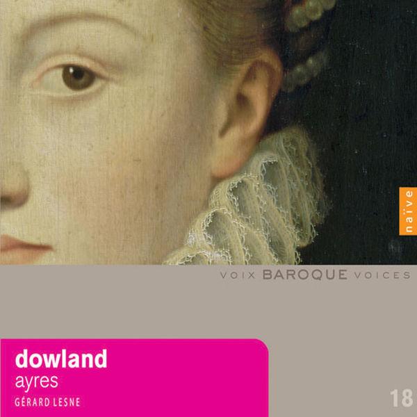 Gérard Lesne, Jacob Heringman, Ensemble Orlando Gibbons - Dowland: Ayres