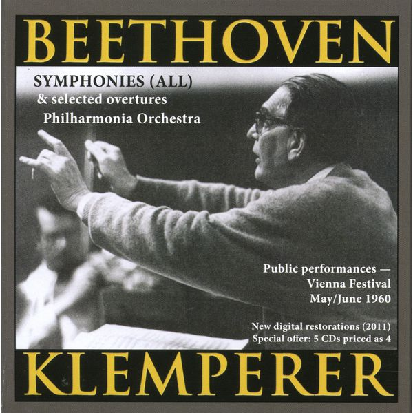 Otto Klemperer - Beethoven: Symphonies (All) (1960)