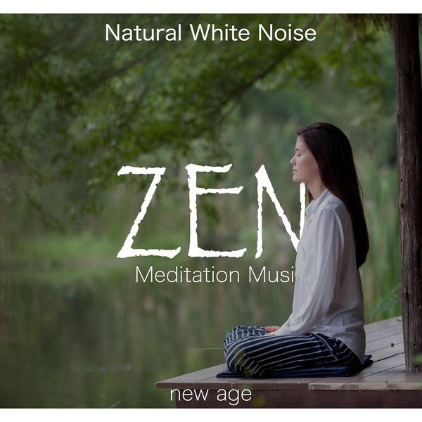 Zen Meditation Music and Natural White Noise | Acoustic