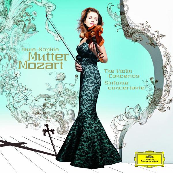 Anne-Sophie Mutter - Mozart: The Violin Concertos; Sinfonia concertante