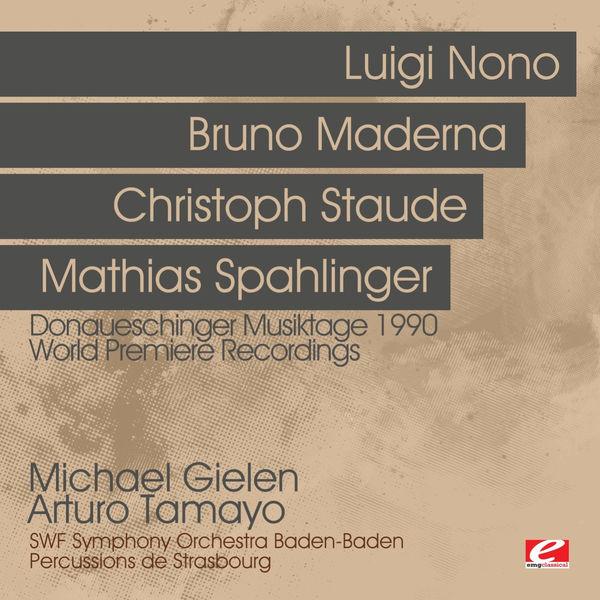 Michael Gielen - Donaueschinger Musiktage 1990 - World Premiere Recordings (Digitally Remastered)