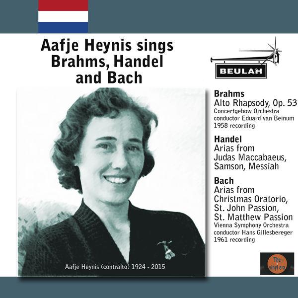 Aafje Heynis - Aafje Heynis Sings Brahms, Handel and Bach