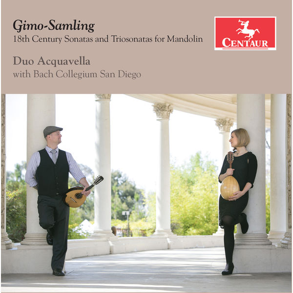 Duo Acquavella - Gimo-Samling: 18th Century Sonatas & Trio Sonatas for Mandolin