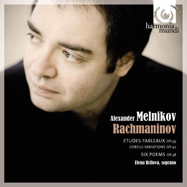 Alexander Melnikov - Rachmaninov: Etudes-tableaux Op.39 / Poems Op.38
