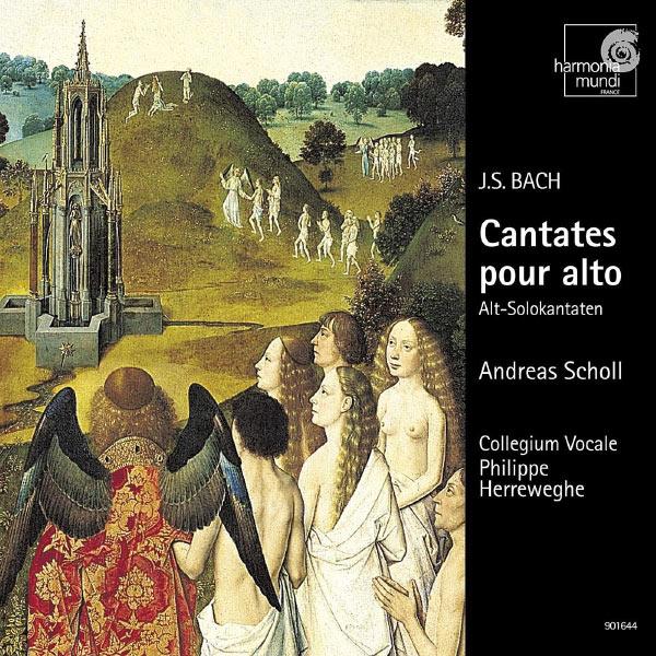 Andreas Scholl - Philippe Herreweghe - Johann Sebastian Bach : Cantatas for alto solo