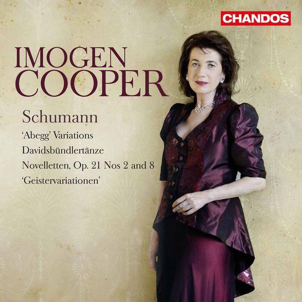 """Imogen Cooper - Schumann : """"Abegg"""" Variations, Davidsbündlertänze..."""