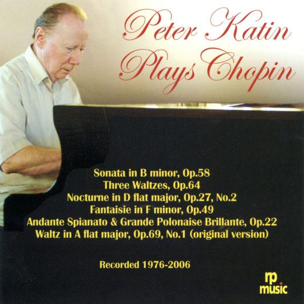 Peter Katin - Chopin: Piano Works (Live)