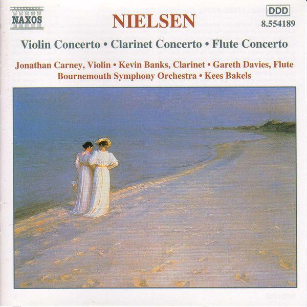Jonathan Carney - NIELSEN, C.: Violin Concerto / Clarinet Concerto / Flute Concerto