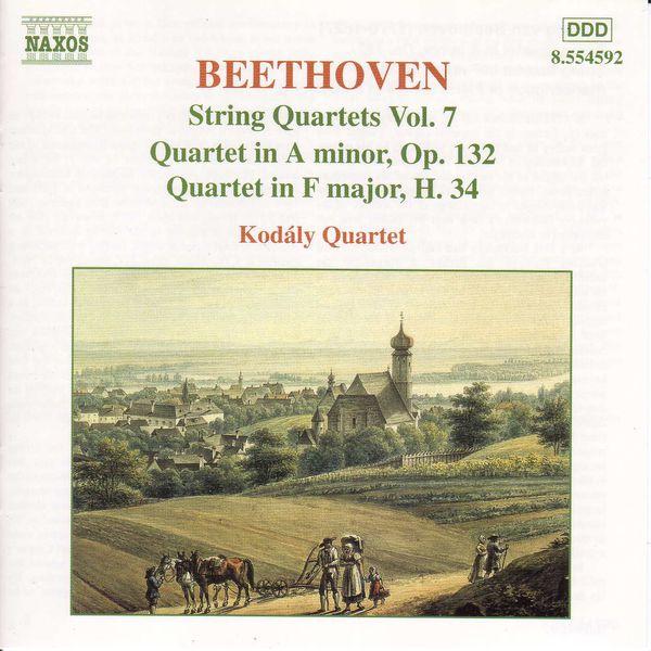 Kodaly Quartet - BEETHOVEN: String Quartets Op. 132 and H. 34
