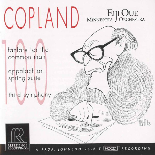Minnesota Orchestra - Copland: Fanfare for the Common Man, Appalachian Spring & Symphony No. 3