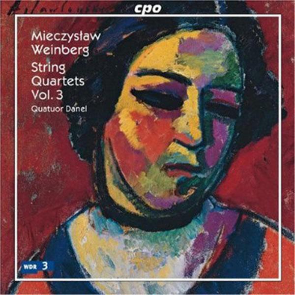 Quatuor Danel - Weinberg: String Quartets, Vol. 3
