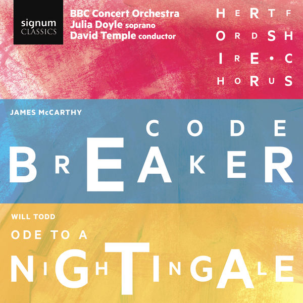 Julia Doyle - James McCarthy: Code Breaker & Will Todd: Ode to a Nightingale