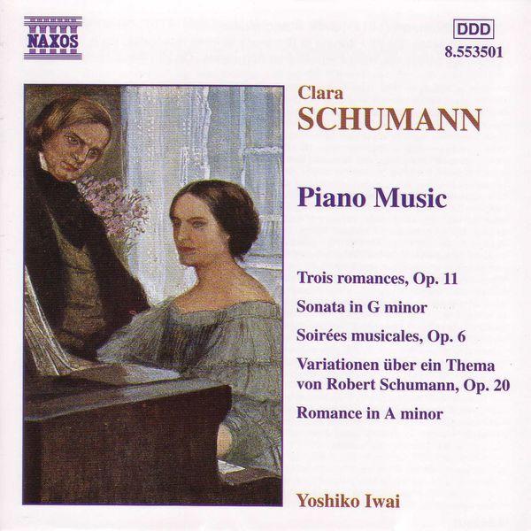 Yoshiko Iwai - SCHUMANN, C.: Piano Music
