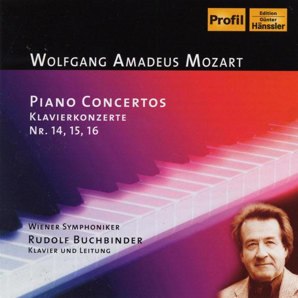 Rudolf Buchbinder - Mozart: Piano Concerto Nos 14-16