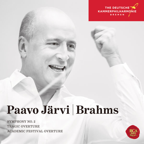 Paavo Järvi - Brahms: Symphony No. 2, Tragic Overture & Academic Festival Overture