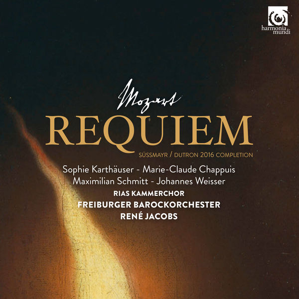 René Jacobs - Mozart: Requiem, K. 626 (Süssmayr - Dutron 2016 Completion)