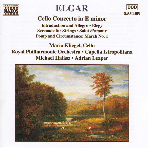Maria Kliegel - ELGAR: Cello Concerto / Introduction and Allegro / Serenade for Strings