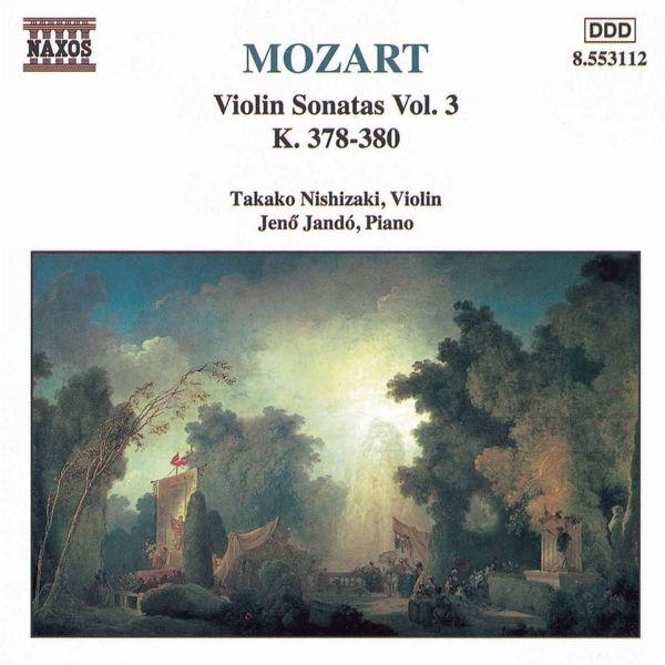 Takako Nishizaki - Violin Sonatas, Vol. 3